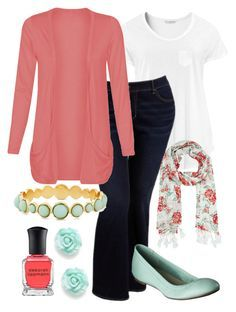 Teacher Outfits on a Teacher's Budget 121 by allij28 on Polyvore featuring polyvore, fashion, style, H&M, Old Navy, Merona, River Island and Deborah Lippmann