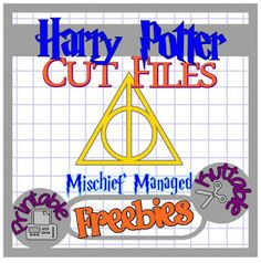 The Scrapoholic : 25 Days of HARRY POTTER Cut File Freebies! Day 06 SVG mischief managed
