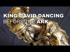 KING DAVID Danced in bronze sculpture. David's dance - a popular Bible story. So David went down and brought up the ark of God to the City of David with rejo. Bronze Sculpture, Lion Sculpture, King David, Bible Stories, Ark, Worship, Threshing Floor, Dance, Statue