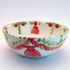 werngard Serving Bowls, Tableware, Red, Green, Tablewares, Dinnerware, Dishes, Place Settings, Mixing Bowls