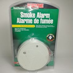 New KIDDE Smoke Alarm Model 0915CA In Open Sealed Box With All Accessories #KIDDE Fire Alarm System, Smoke Alarms, Consumer Electronics, Box, Giveaway, Model, Fiction, Turkey, Wire