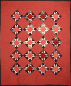 Variable Stars Quilt: Circa 1880; Pennsylvania