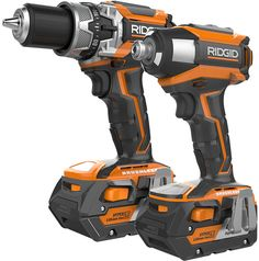 Ridgid R9205 Brushless Drill and Impact Driver Combo