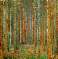 The Art from Siberia • Gustav Klimt: Pinewood