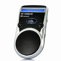Cheap DSD TECH Black Solar Powered LCD Display Bluetooth Car Kit Handsfree Call Device Support PhoneBook and TTS Function Best Selling
