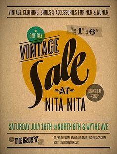 Vintage Sale at Nita Nita