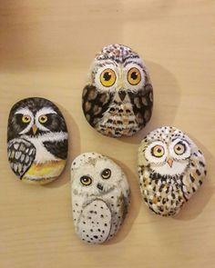 #taşboyama #taşsanatı #elyapimi #handmade #homeart #rockpainting #hobby #rockart #painting #stoneart #stonepainting #owl #owls #baykuş #artrocks