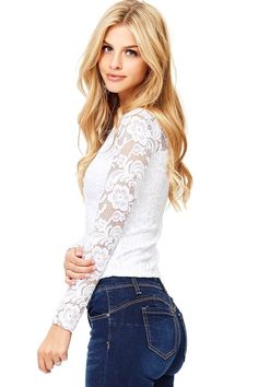 b44a523be6d436 29 Best Sheer lace top images in 2019
