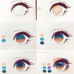 art dibujos howtomanga if youre a Manga Artist Source # Eye Drawing Tutorials, Digital Painting Tutorials, Digital Art Tutorial, Drawing Techniques, Art Tutorials, Realistic Eye Drawing, Drawing Eyes, Art Reference Poses, Drawing Reference