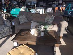 New tufted sofa in V
