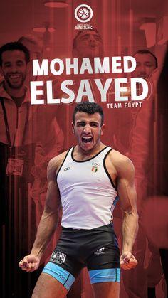 Mohamed Elsayed, 65kg Greco-Roman Wrestler. Proud Member of Team Egypt. Olympic Wrestling, Olympics, Egypt, Roman, The Unit, Photo And Video, Wallpapers, Phone, Instagram