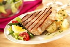 Low Carb Lemon Pepper Tuna Steak Recipe