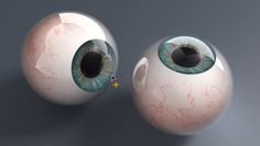 Creating Realistic Eyeballs in Cinema 4d