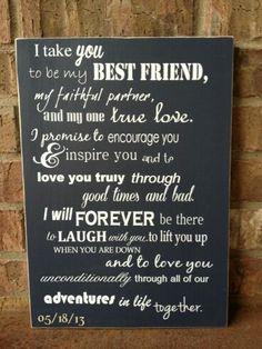 Im gonna marry my best friend.