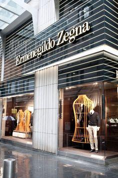 8096a2ad752c3 Ermenegildo Zegna store Peter Marino Sydney 12