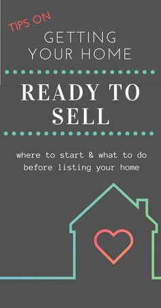 6 top tips for getting your home ready to sell. As a seller, you want to sell your house, fast, for a ton of money. Listing timeline. Prepare your home for sale, what to do before you list your house, how to get your home ready for sale, how to get your house ready to sell, what should I do before I list my home, list for sellers to prepare a house for MLS.