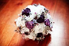 Flowers with special broaches