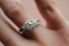 Wedding Ring Infinity Symbol