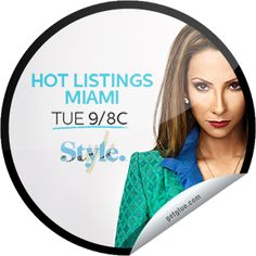 Hot Listings Miami: Mind Your Manors Sticker | GetGlue