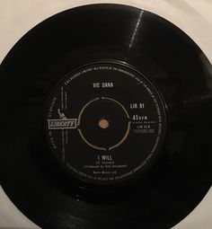 Vic Dana I Will / Proud Billy Fury Cover 1962 Rare EX+