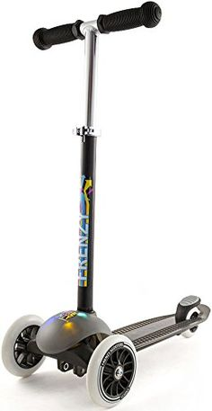 Slamm Frenzy 3 Wheel Light Up Scooter Multi One Size * More info could be found at the image url.