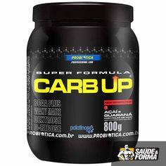 Melhora os níveis de energia e adia o início da fadiga, favorecendo a performance dos atletas. Composta  por Maltodextrina, Dextrose, Waxy Maize, Isomaltulose (Palatinose®) e D-Ribose, além de conter Whey Protein Concentrate (fonte de aminoácidos de cadeia ramificada - BCAAs). Carb UP Super Fórmula contém ainda vitamina C, vitaminas do complexo B e minerais.