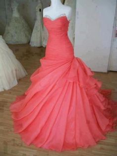 Gorgeous Ball Gown Sweep Train Prom Dress/prom dresses