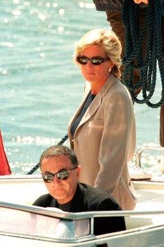 Princesa Diana Y Dodi, Princess Diana And Dodi, Diana Dodi, Princess Diana Death, Princess Diana Pictures, Princess Of Wales, My Princess, Lady Diana Spencer, Diana Fashion