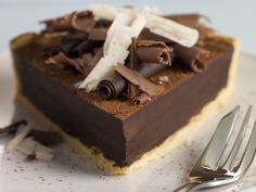 Tarte au Chocolat (recette Frédéric Anton)