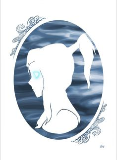 The Legend of Korra: silhouettes done by http://nowtasha.tumblr.com/post/52037532807/here-are-some-silhouettes-i-did-for-a-legend-of