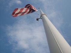 Freshman Angelo Liu '16 took the Photo of the Week for Jan 11, 2013.  Dramatic shot of the Delbarton flagpole.