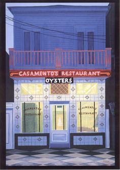 Casamento's on Magazine Street in Uptown New Orleans -- oyster heaven