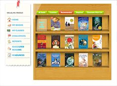 Students/teachers build their own reading list with recommendations and levels.