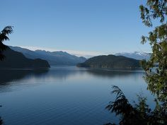 Harrison Lake is the largest lake in the southern Coast Mountains of Canada, being about 250 square kilometres in area. It is about 60 km in length and at its widest almost 9 km across.