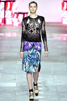 Peter Pilotto | Fall 2012 Ready-to-Wear Collection | Vogue Runway
