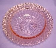 Depression Glass Price Guide:  Miss America Bowl - Pink PATTERN