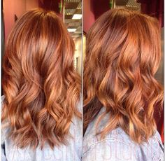 balayage redhead - Google Search (Pastel Hair Red)