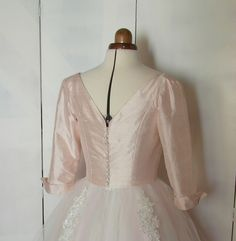 The Fremont Dress - 1950's tea length wedding dress handmade by Ryley & Flynn Vintage. www.ryleyandflynn.co.uk