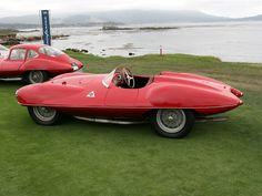 Alfa Romeo 1900 C52 called 'Disco Volante' by Carrozzeria Touring.