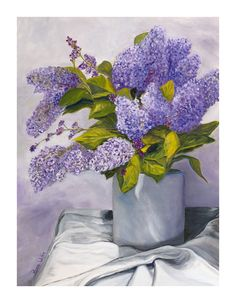 Lilacs by Rose Wolfe