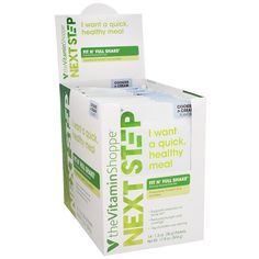 Next Step Fit N Full - Cookies and Cream (14 Packets) * Tried it! Love it! Click the image. : Appetite Control Suppressants