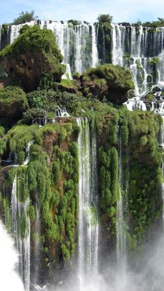 Iguazu Falls A unique natural border between Argentina and Brazil was awarded a status as the 7th wonder of the world in 2011.