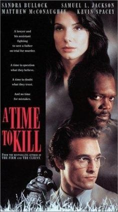 A Time to Kill A young lawyer defends a black man accused of murdering two men who raped his daughter, sparking a rebirth of the KKK. A truly powerful film. See Movie, Movie List, Film Movie, Hindi Movie, Movies Showing, Movies And Tv Shows, Image Film, Plus Tv, Bon Film