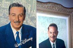 "Tom Hanks as Walt Disney in the new movie ""Saving Mr. Banks"" release December 2013"