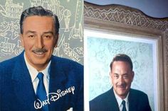 First Look at Tom Hanks as Walt Disney