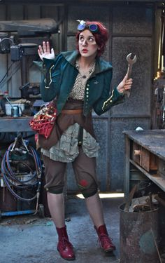 steampunk she would make a great Lady Earl Grey the younger