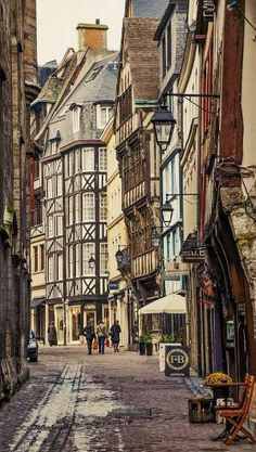 Street of Rouen - Normandy, France / by d:a via traveling—soul