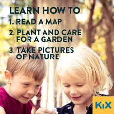 Three Summer Ideas  What do you want your kids to learn this summer? Here are 3 thought-starters.