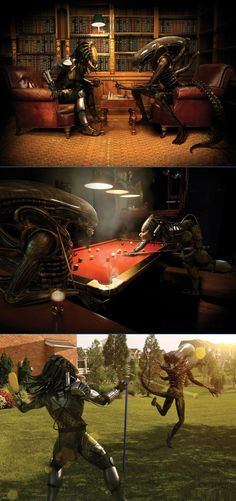 Alien and Predator as they were meant to be