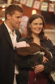 Booth and Bones with thier daughter Christina Angela Baby!!! :)